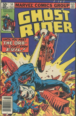 Ghost Rider'#54,  The Orb