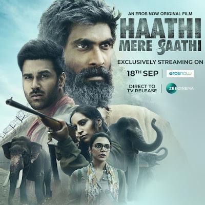 Haathi Mere Saathi (2021) Hindi 720p HDRip x265 HEVC 800Mb