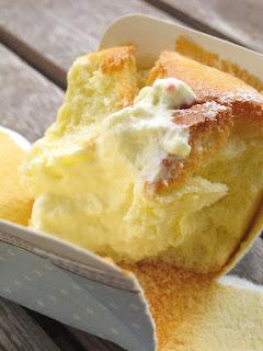Tự làm Hokkaido Chiffon Cake bằng bột trộn sẵn 2