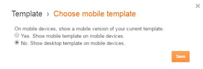mobile template blogspot blog