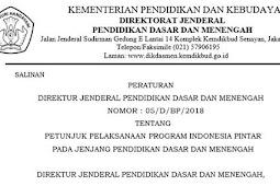 Petunjuk Pelaksanaan Program Indonesia Pintar Tahun 2018