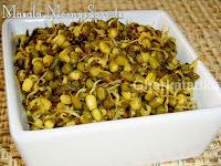 Masala Moong Sprouts