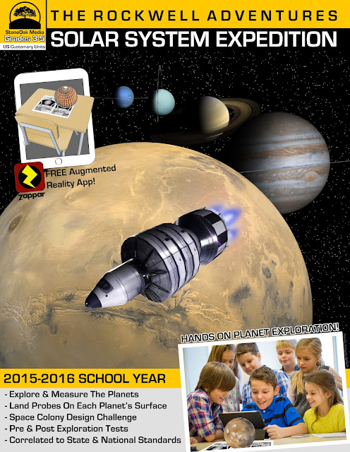 The Educators' Spin On It: The Rockwell Adventures - Solar System Expedition Space Colony Design Challenge