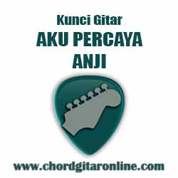 Chord Anji Aku Percaya