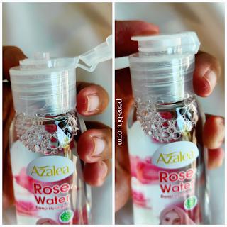 Azalea Deep Hydation Rose Water