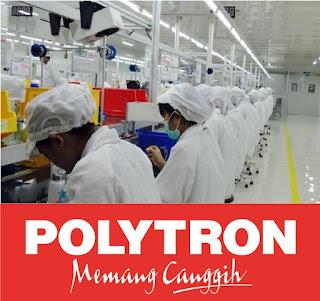 Lowongan Kerja PT POLYTRON INDONESIA - Operator produksi.net  PT POLYTRON INDONESIA