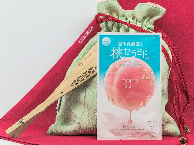 Momo Puri Маска тканевая с лактобактериями, витаминами А, C, E и керамидами «Увлажнение и Упругость» отзывы с фото