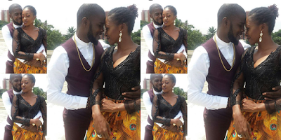 "JJC, Kate Henshaw Cuddle Up In ""See Us Now' Video Shoot (Photo)"