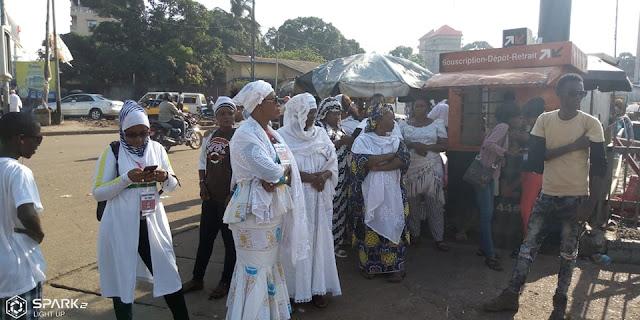 Guinée/manifestation des femmes du FNDC: les femmes répondent en contre goûte à la mobilisation
