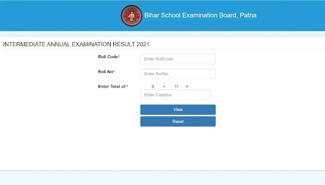 Bihar Board 12th Result 2021 to be out today at 3 pm, check
