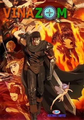 Berserk - anime máu me bạo lực