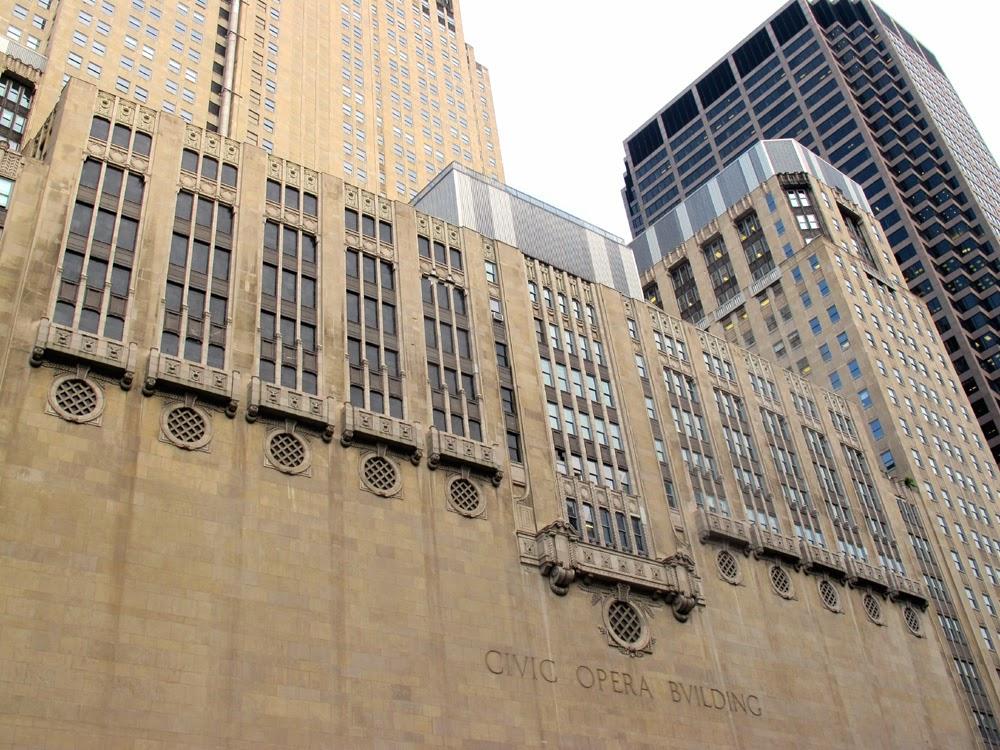 Civic Opera Building, Chicago