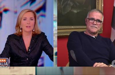 Alberto Zangrillo Barbara Palombelli stasera Italia