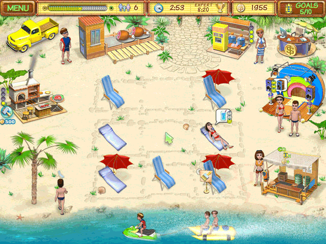 Beach Party Craze Game Mode