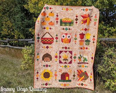 fall sampler quilt