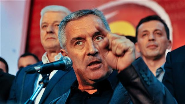 Montenegro's Prime Minister Milo Djukanovic accuses pro-Russia opposition of assassination attempt