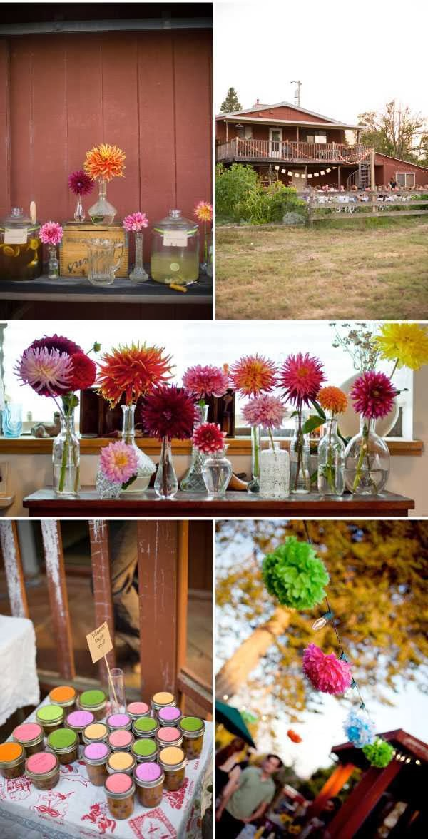 Backyard for Party Decorating Ideas