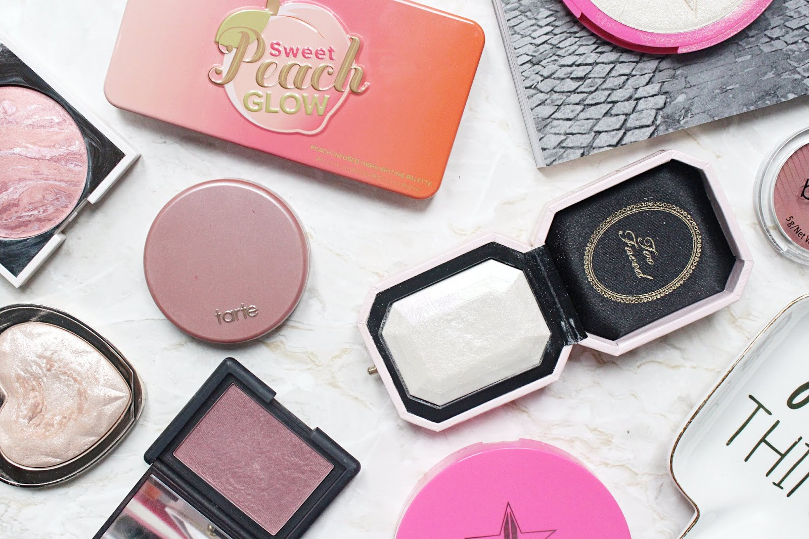 My Go-To Blushes and Highlighters