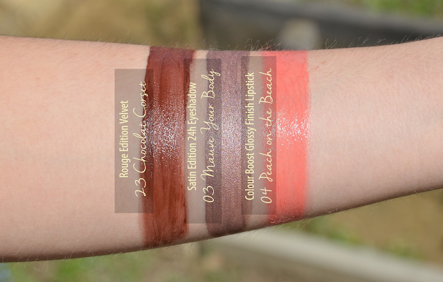 Lana Talks | Blogger Mail from Bourjois Swatches