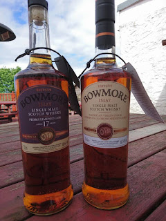 Bowmore Feis Ile 2016 whiskies