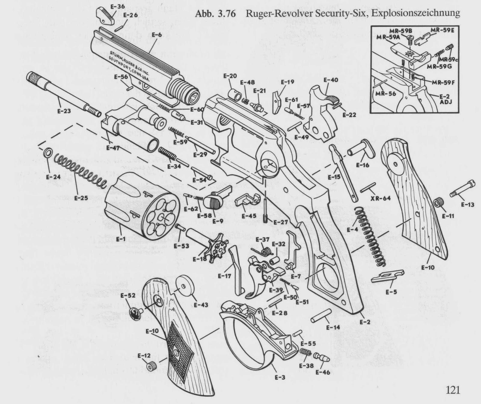 tincanbandit u0026 39 s gunsmithing  ruger u0026 39 s 1st double action