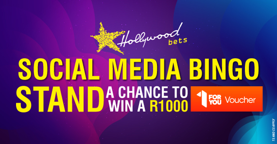 Stand a chance to win a R1000 1ForYou voucher.