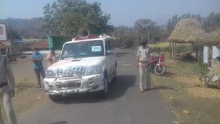 कोरोना वायरस के चलते लगातार पुलिस द्वारा पेट्रोलिंग जारी