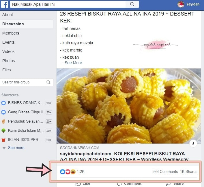 Pageviews blog 1 hari cecah 48K