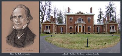 Henry Clay. American Statesman. Ashland. Estate. Lexington, Kentucky. by Travis Simpkins