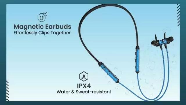 pTron Tangent Plus V2 Neckband Earphones