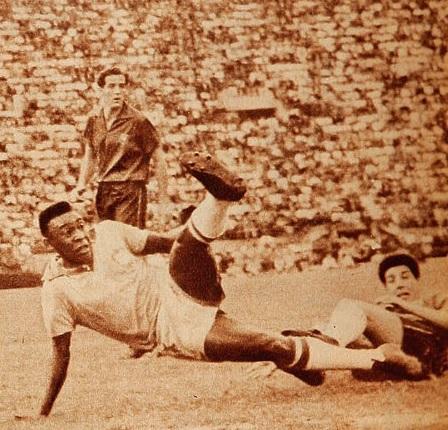 Brasil y Chile en Copa O'Higgins 1959, partido de vuelta
