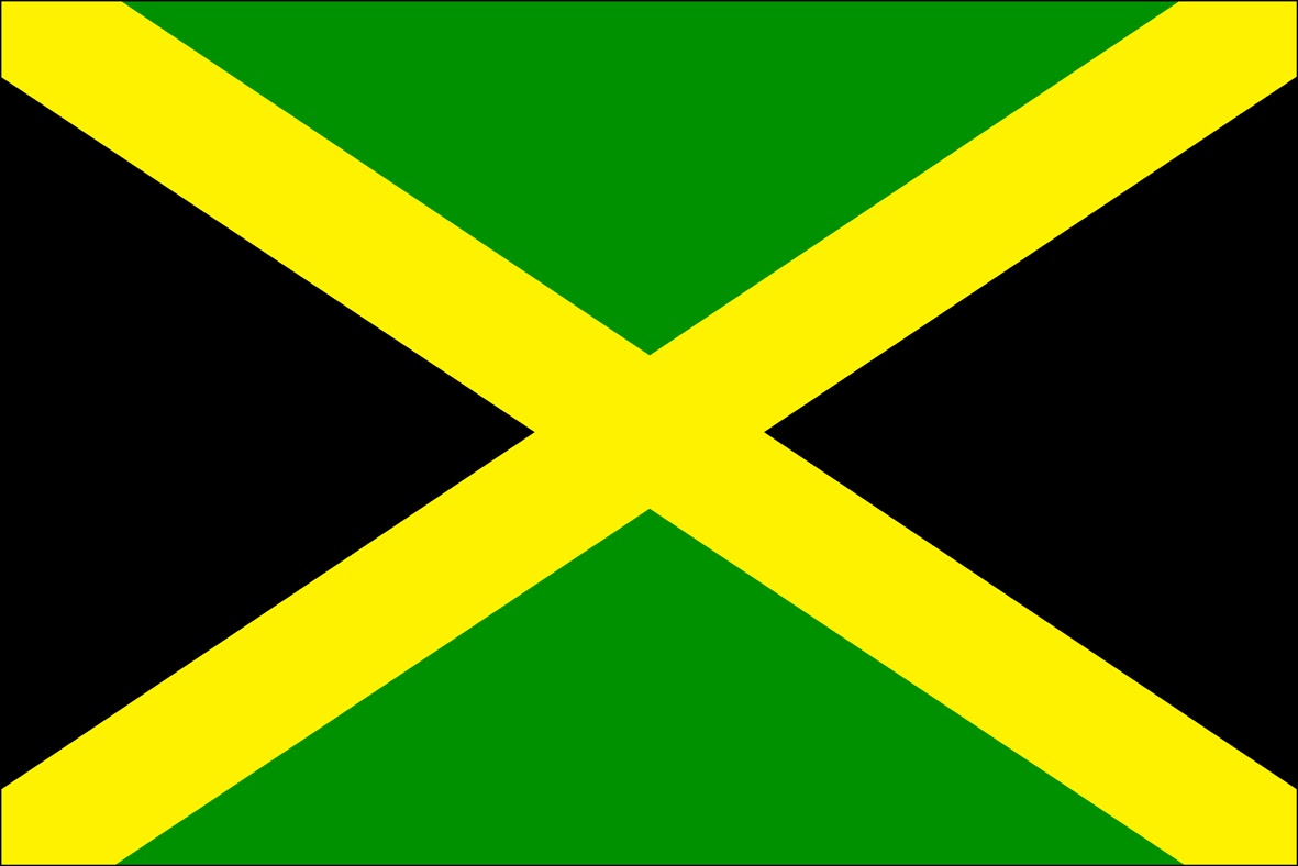 Fahne Von Jamaika