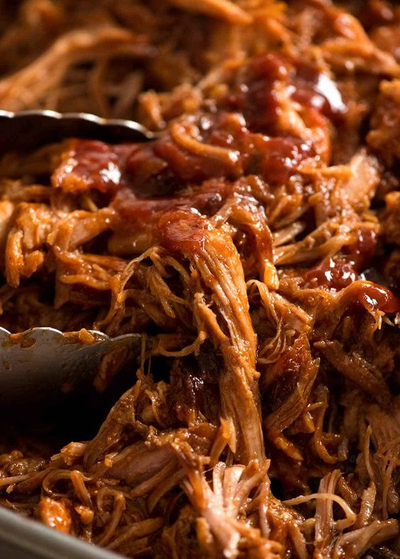 Pulled Pork with BBQ Sauce Recipe