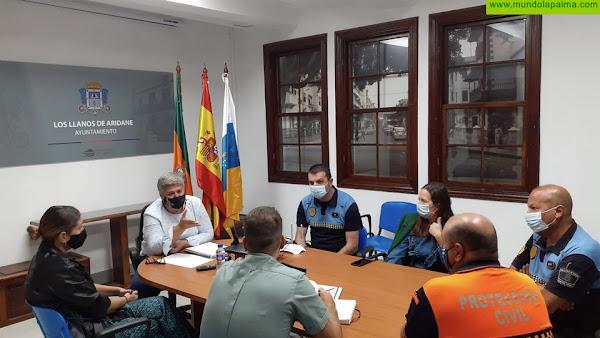 Los Llanos de Aridane mantendrá un intenso operativo de seguridad para evitar aglomeraciones durante el Fin de Semana Blanco