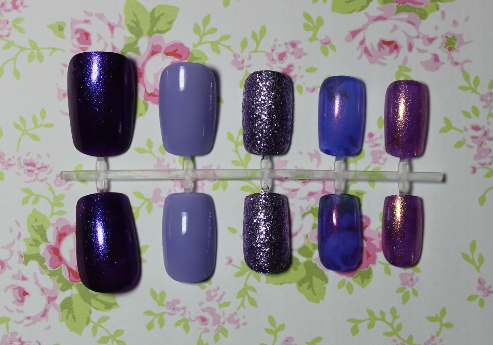 top 5 purple nail polishes