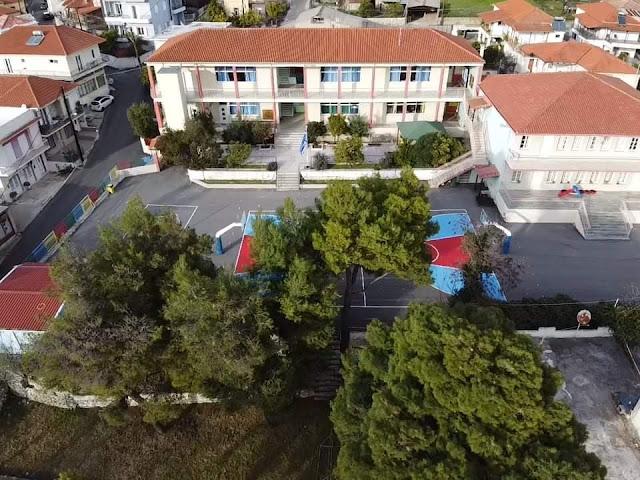 Προσθήκη και επέκταση 12θέσιου Δημοτικού Σχολείου Λυγουριού