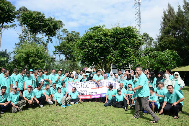 Outing Outbound Gathering di Pangalengan