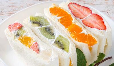 Resep Sandwich Buah Khas Jepang