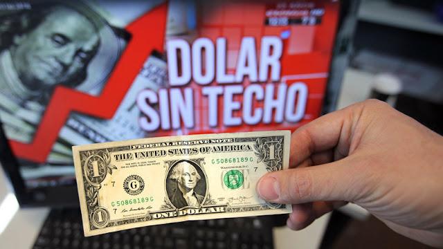 El riesgo país sobrepasa los 1800 puntos en Argentina tras los anuncios de Macri y el dólar se cotiza en 61 pesos