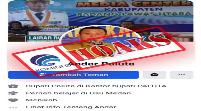 Bupati Padang Lawas Utara, Andar Amin Harahap Bantah Gunakan Facebook