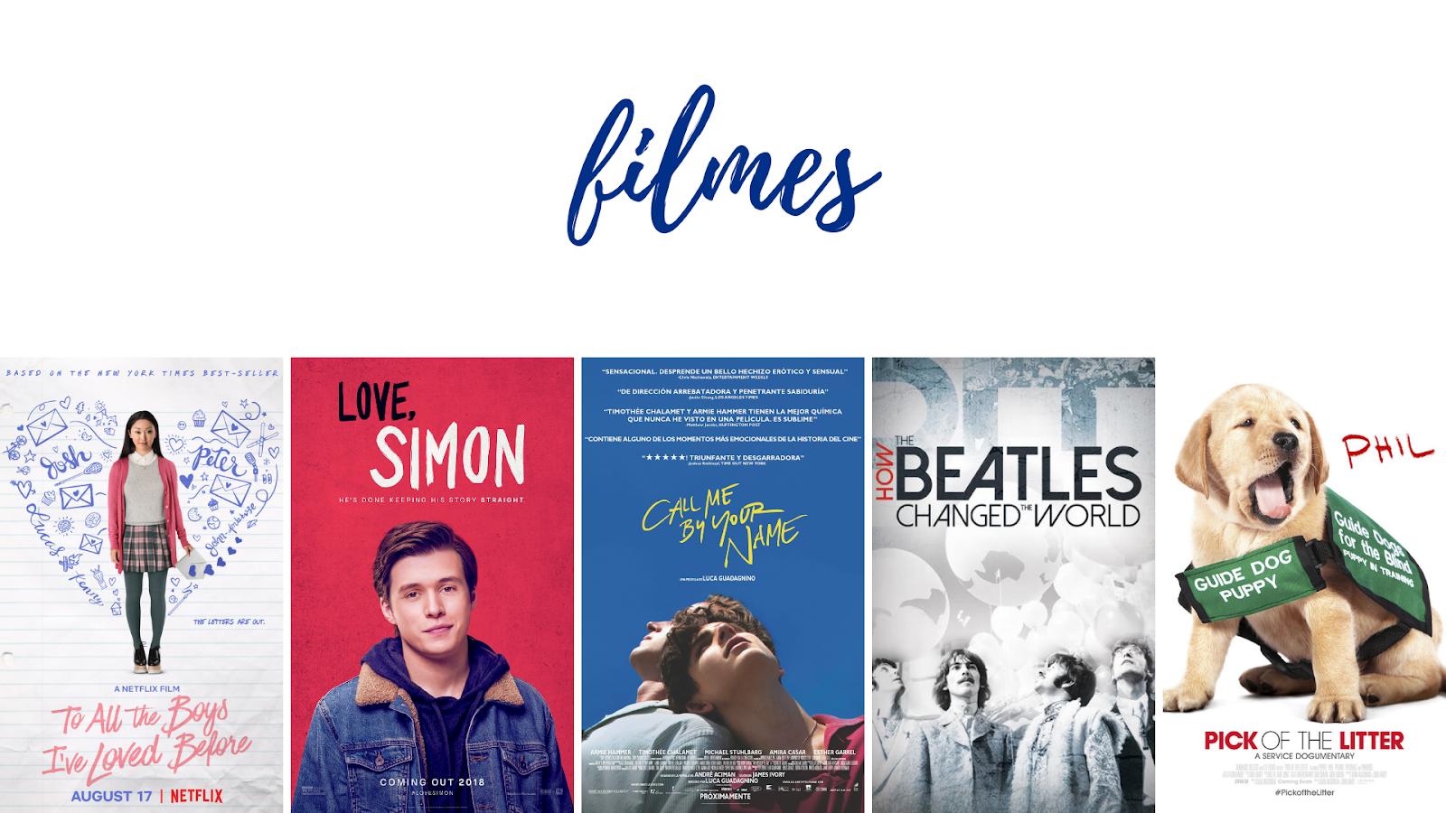 favoritos 2018 - filmes