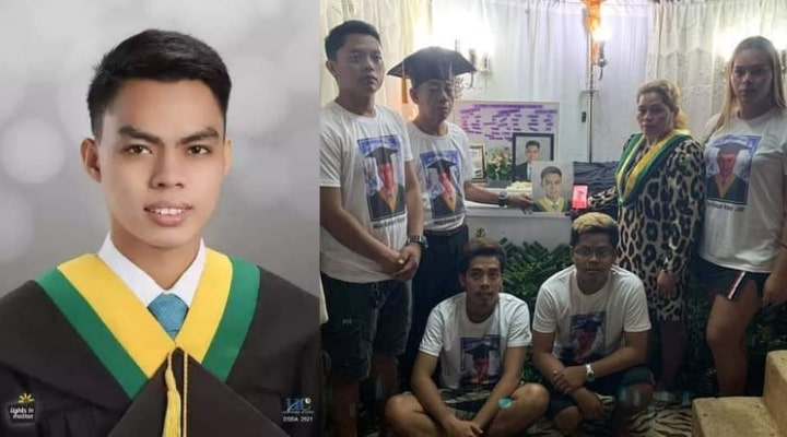 Hemenz Luzada passed away a day before his graduation day