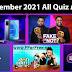 September 21st Flipkart Video Quiz All Answers