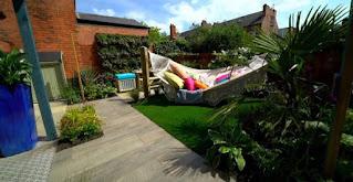 Finished garden