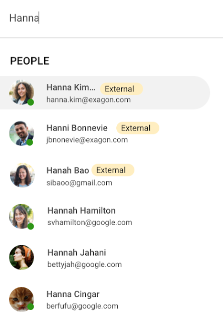 Talk to people outside of your domain in Google Chat 1