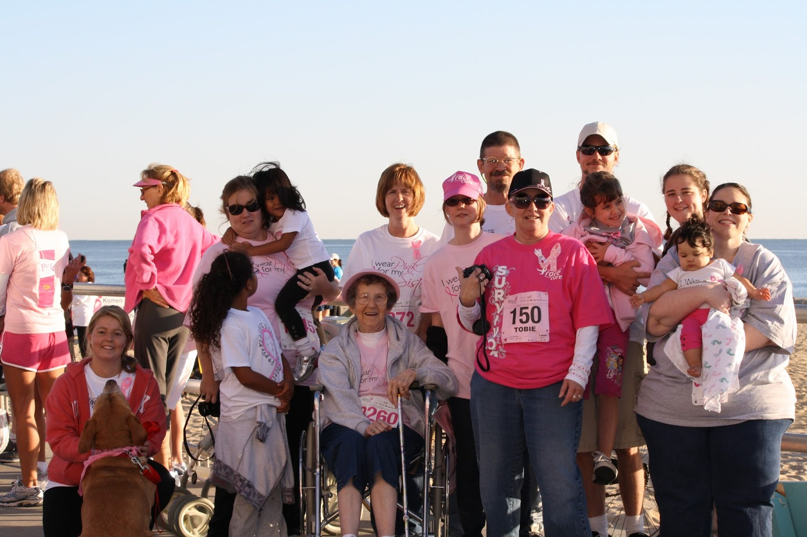 Breast Cancer Open In Front Race For The Cure