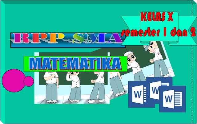RPP Matematika Kurikulum 2013 SMA