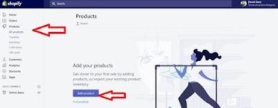 Cómo añadir productos a Shopify