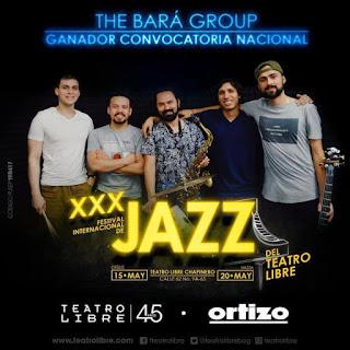 Concierto de THE BARÁ GROUP en Bogotá (JAZZ)