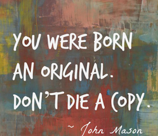 you were born as original don't die a copy